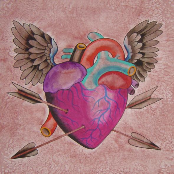 Heart Wings Arrows