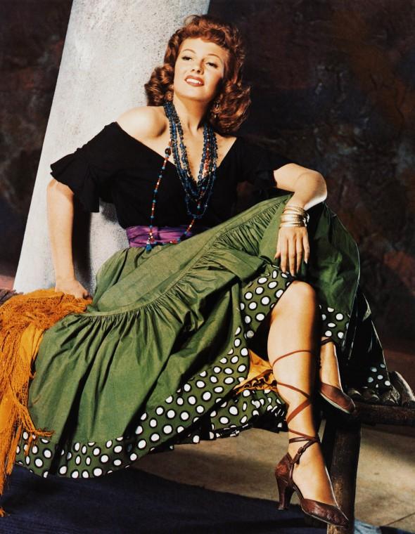 rita hayworth 1948 - the loves of carmen - by robert coburn