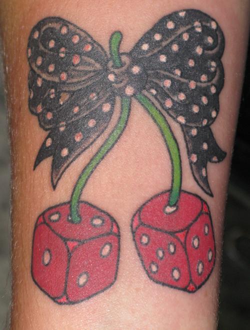 dice cherries