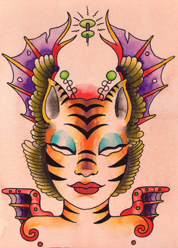 Alien Tiger Girl 2005