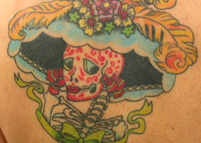 Day of the dead Katrina Tattoo