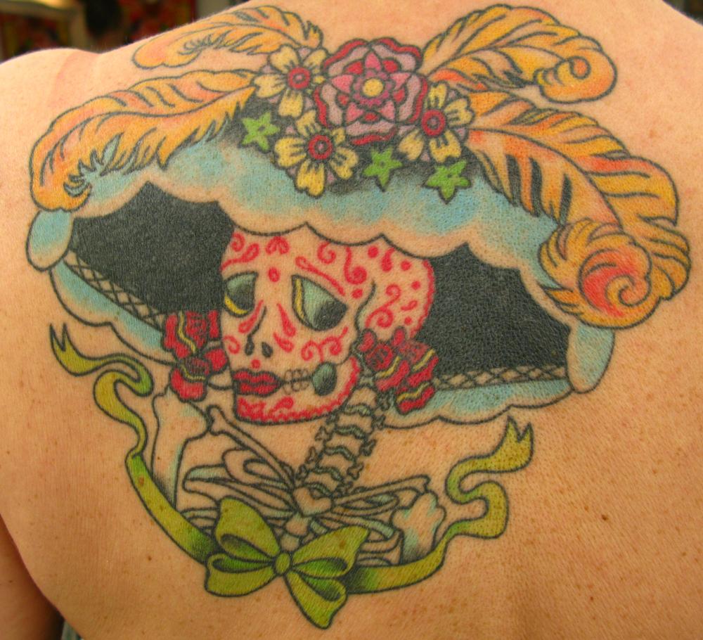 Day of the dead Katrina Tattoo