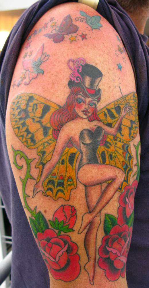 Butterfly Lady Tattoo Cabaret
