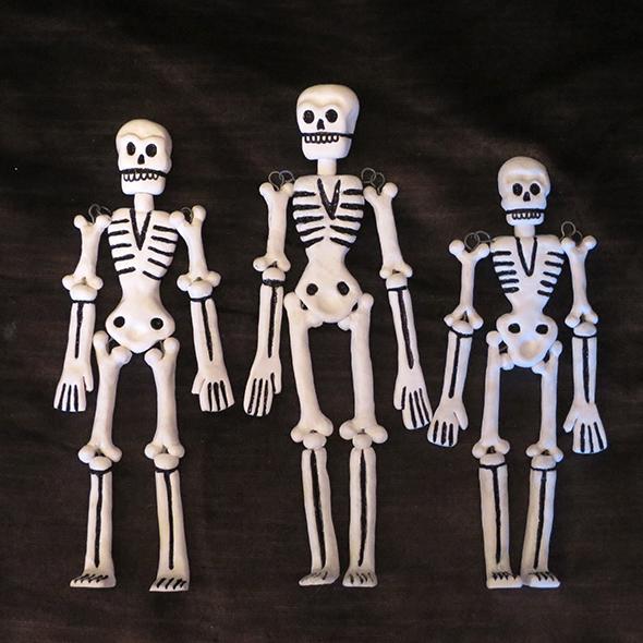 Fimo Skeletons