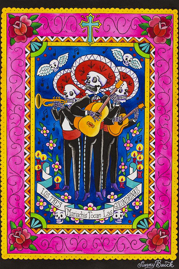 Los Tres Mariachis Tocan Las Golondrinas