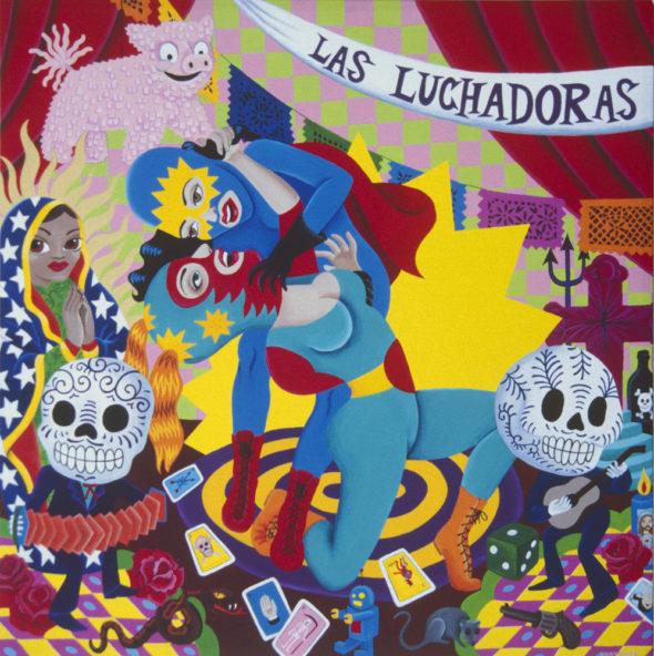 Las Luchadoras women mexican masked wrestlers