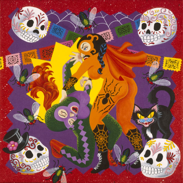 Las Luchadoras II women mexican masked wrestlers