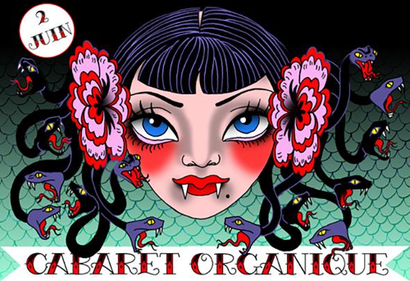 Cabaret Organique poster