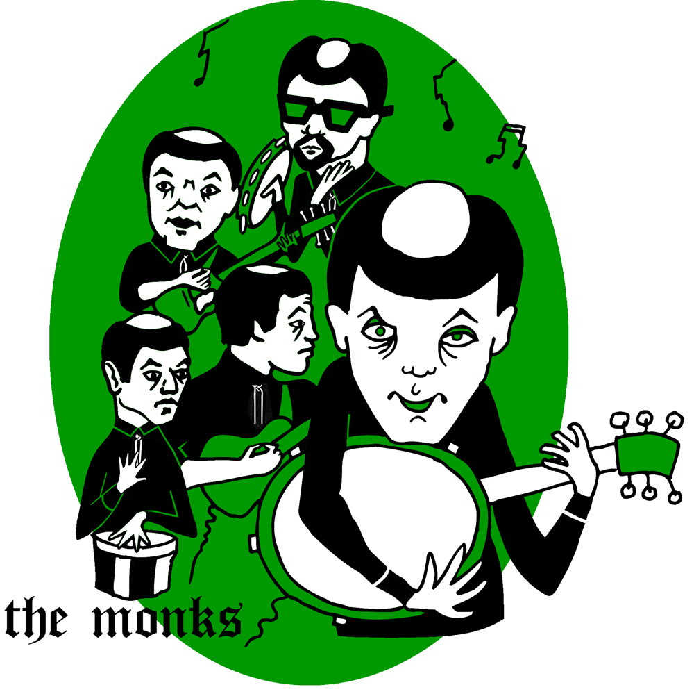 The Monks banjo sixties garage