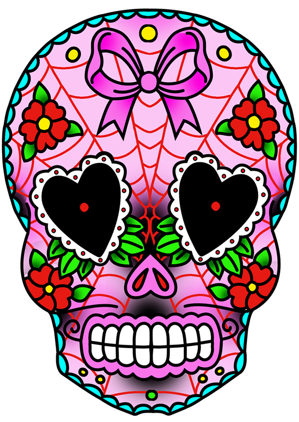 Sweetheart Sugar Skull