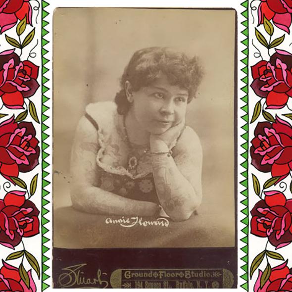 Annie Howard – The Tattooed Venus